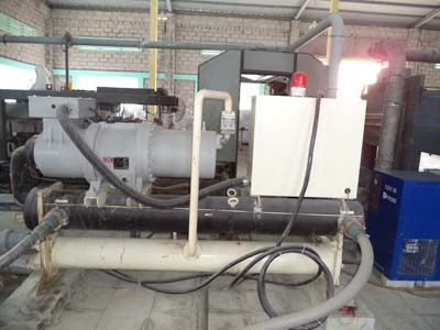 Replace fusheng screw compressor for chiller