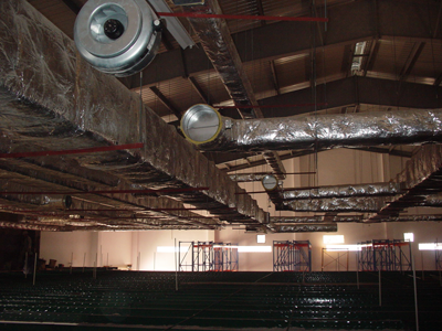 Installed duct system