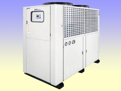 Bock air cooled chiller unit