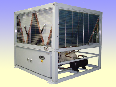 Air cooled screw water chiller unit