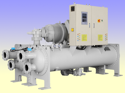 Water cooled flood chiller unit