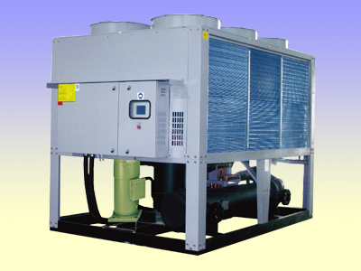 Air cooled scroll water chiller unit