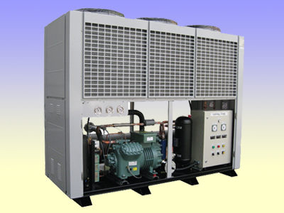 Refcomp air cooled chiller unit