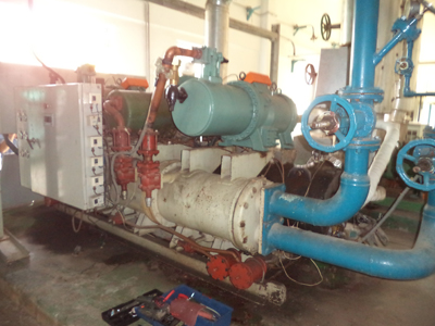 Replace Century screw compressor