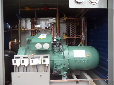 Replace bitzer screw compressor