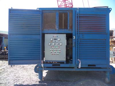 Refcomp screw refrigeration compressor