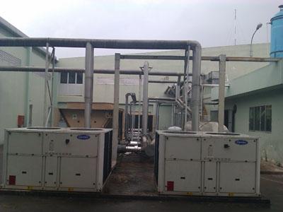 Bảo trì máy làm lạnh nước Carrier