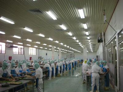 Nhà máy chế biến thủy sản Đài loan