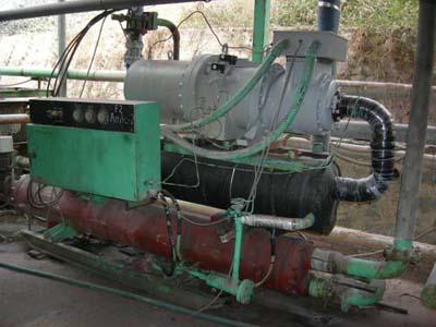 Replace Hitachi screw compressor